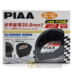 PIAA HO-12 Dual Tone Slender Ultra Light Twin Horns 112dB 12V (400/500Hz)