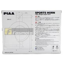 PIAA HO-2 Dual Tone Light Weight Twin Super Car Horn 112dB 12V (400/500Hz)