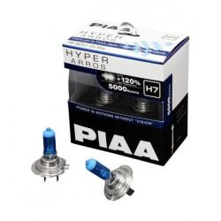 PIAA HE-923 5000K H7 Hyper Arros Halogen Light Bulb 55W (ONE PAIR)