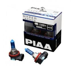 PIAA HE-926 5000K H11 Hyper Arros Halogen Light Bulb 55W (ONE PAIR)