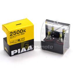 PIAA HY111 2500K H16 Solar Yellow 2500 Halogen Light Bulb 12V 19W Twin Pack