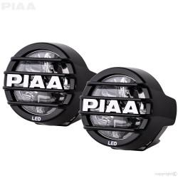 """PIAA LP530 DK535BG 3.5"""" 6000K White LED Driving Light Kit 12V 9.4W SAE 1 Pair"""