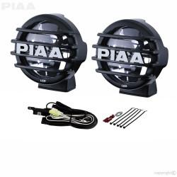 "PIAA LP550 DK555BXG 6000K 5"" White LED Driving Light Kit 12V 14W ECE SAE 1 Pair"