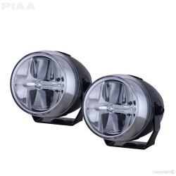 "PIAA LP270 DK277X 2.75"" 6000K White LED Fog Light Kit 12V 8.5W SAE 1 Pair"