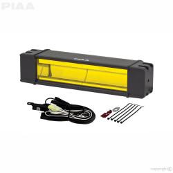 "PIAA RF10 DKRF108X 10"" RF Series Ion Yellow LED Light Bar Fog Beam 12V 1 Piece"