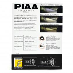 PIAA LEH130E H4 Hyper Arros All Weather Edition 4000K LED