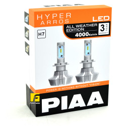 PIAA LEH133E H7 Hyper Arros All Weather Edition 4000K LED