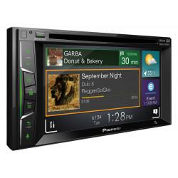 """Pioneer AVH-A2150BT 6.2"""" Double DIN Full HD Bluetooth DVD CD USB Car AV Receiver"""