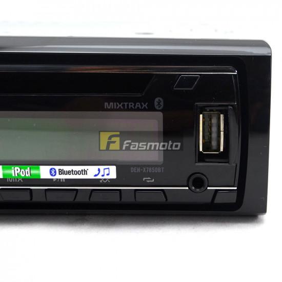 Pioneer DEH-X7850BT Single DIN Bluetooth Spotify USB CD Radio 3 Preouts (4V)