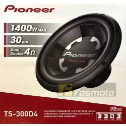"Pioneer TS-300D4 12"" (30cm) Champion Series DVC Subwoofer 400W 4 ohm"