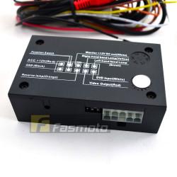 Redbat 4 Channel Parking Camera Switcher Control Box Interface