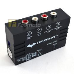 Redbat 2 Channel Parking Camera Switcher Control Box Interface