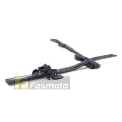 Rhino T-L 8000 Car Roof Automotive Aluminium Bike Rack Black