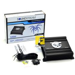 SOUNDSTREAM SP.A3001 Class D Mono Car Audio Amplifier 350W RMS x 1 (1 ohms)