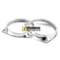 "6.5"" Speaker Adapter Mount Spacer Aluminium Silver for Toyota (1 pair)"