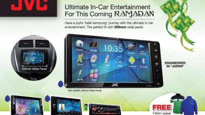 JVC - Ultimate In-Car Entertainment This Ramadan 2016