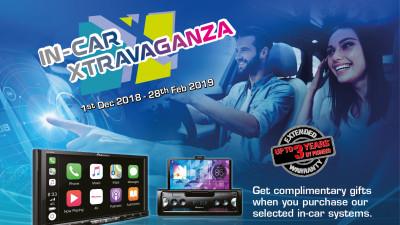 Pioneer In-Car Xtravaganza 2018