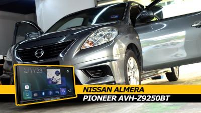 Nissan Almera N17 Pioneer AVH-Z9250BT Head Unit Install
