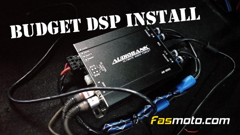 Perodua Alza Audiobank DSP install