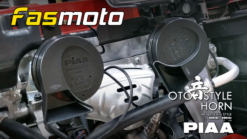 PIAA Oto Style Horn installed in the Perodua Myvi Advance 3rd Gen (M800)