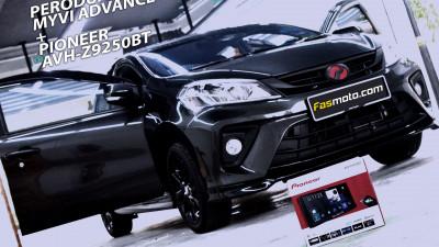 Pioneer AVH-Z9250BT Perodua Myvi Advance 3rd Gen Install