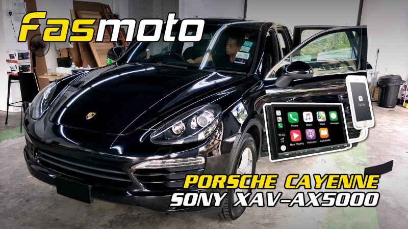 Porsche Cayenne 2nd Gen Sony XAV-AX5000 Head Unit Install