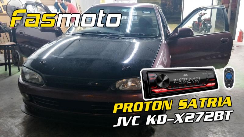 Proton Satria 1st Gen JVC KD-X272BT
