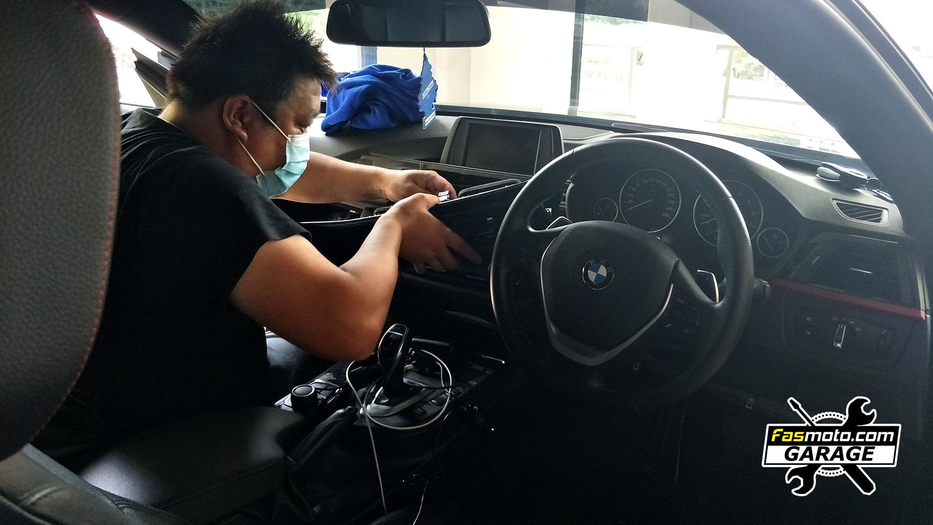 BMW 420i - 4 Series F32  Rear Camera Install