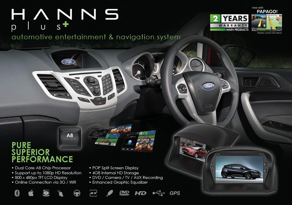 Hanns & Hanns Plus Automotive Entertainment & Navigation Systems