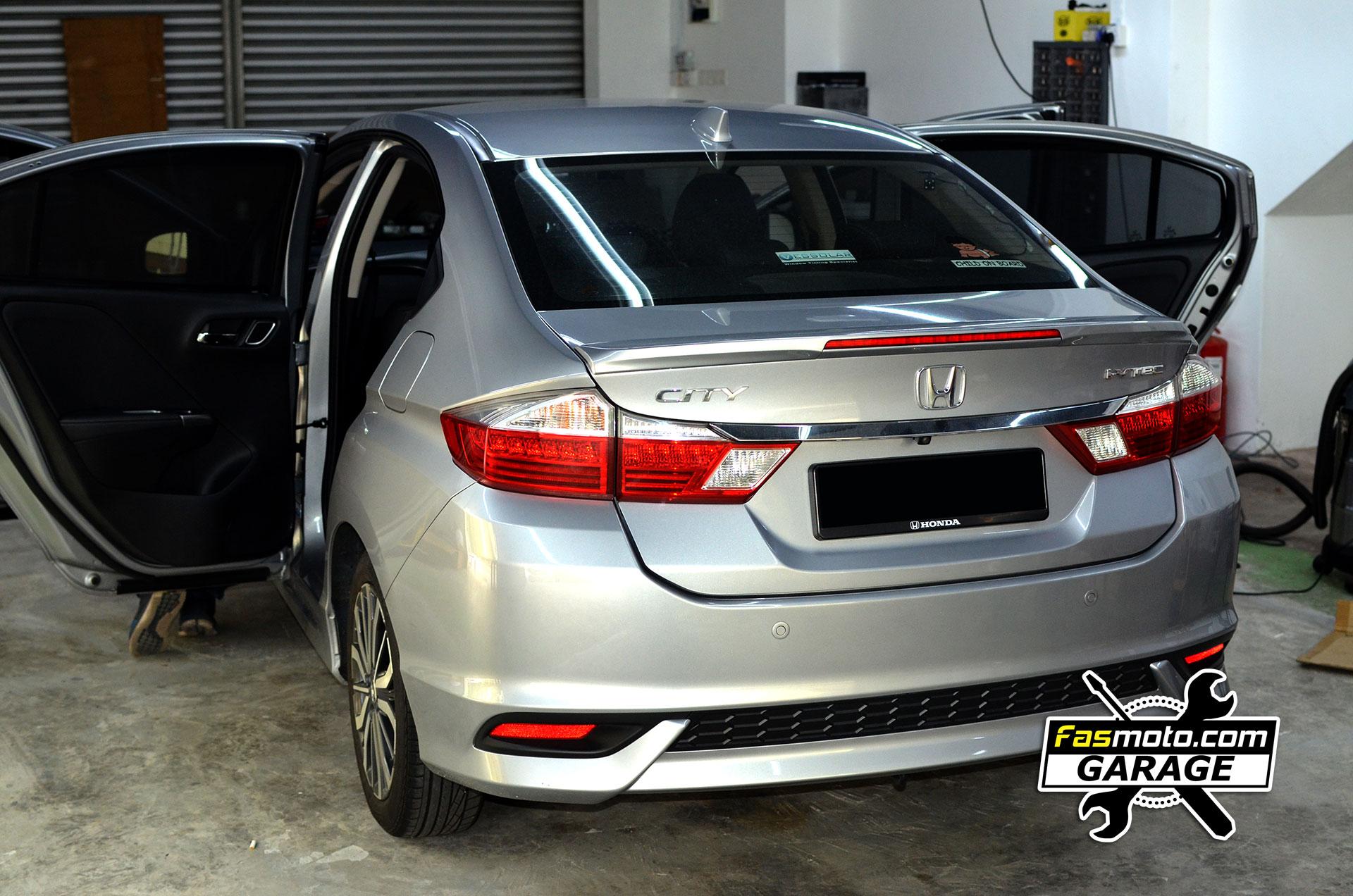 Honda City GM6 Rear View
