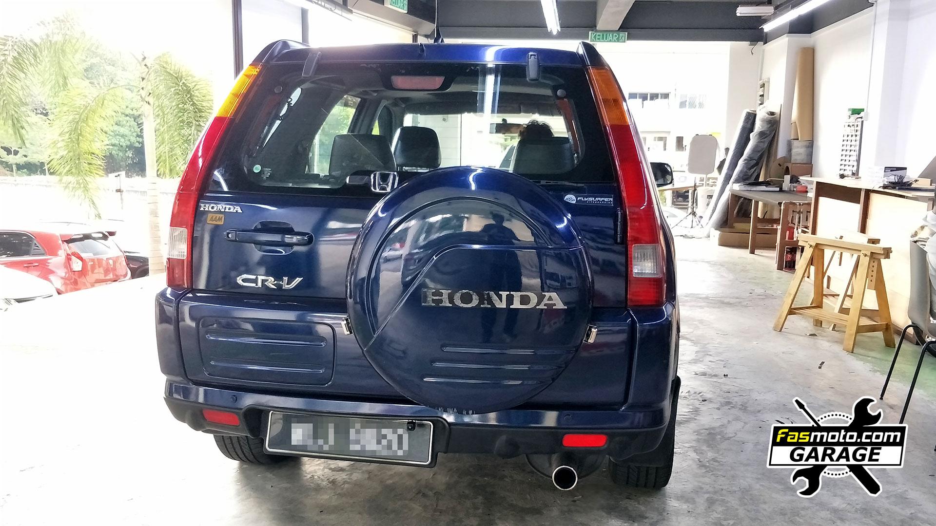 Honda CR-V 2nd Gen Kenwood DMX5020S and Blaupunkt RC 3 Reverse Camera