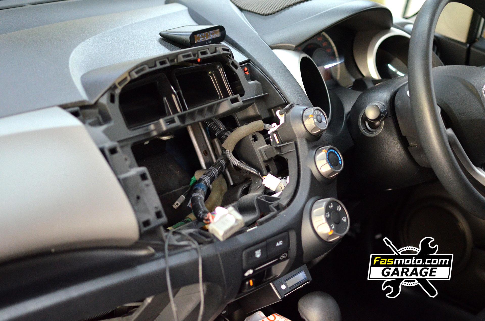 Honda Jazz 2nd Gen Sony XAV-AX3000 Install