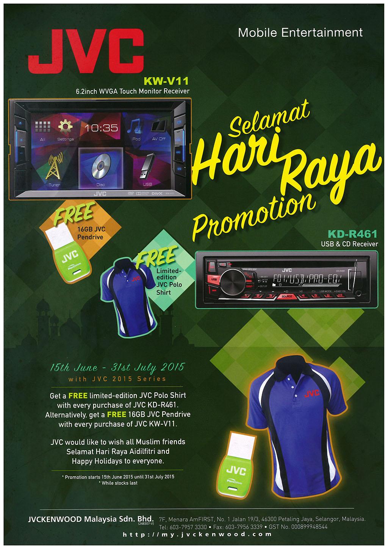 JVC Hari Raya 2015 Promotion Malaysia