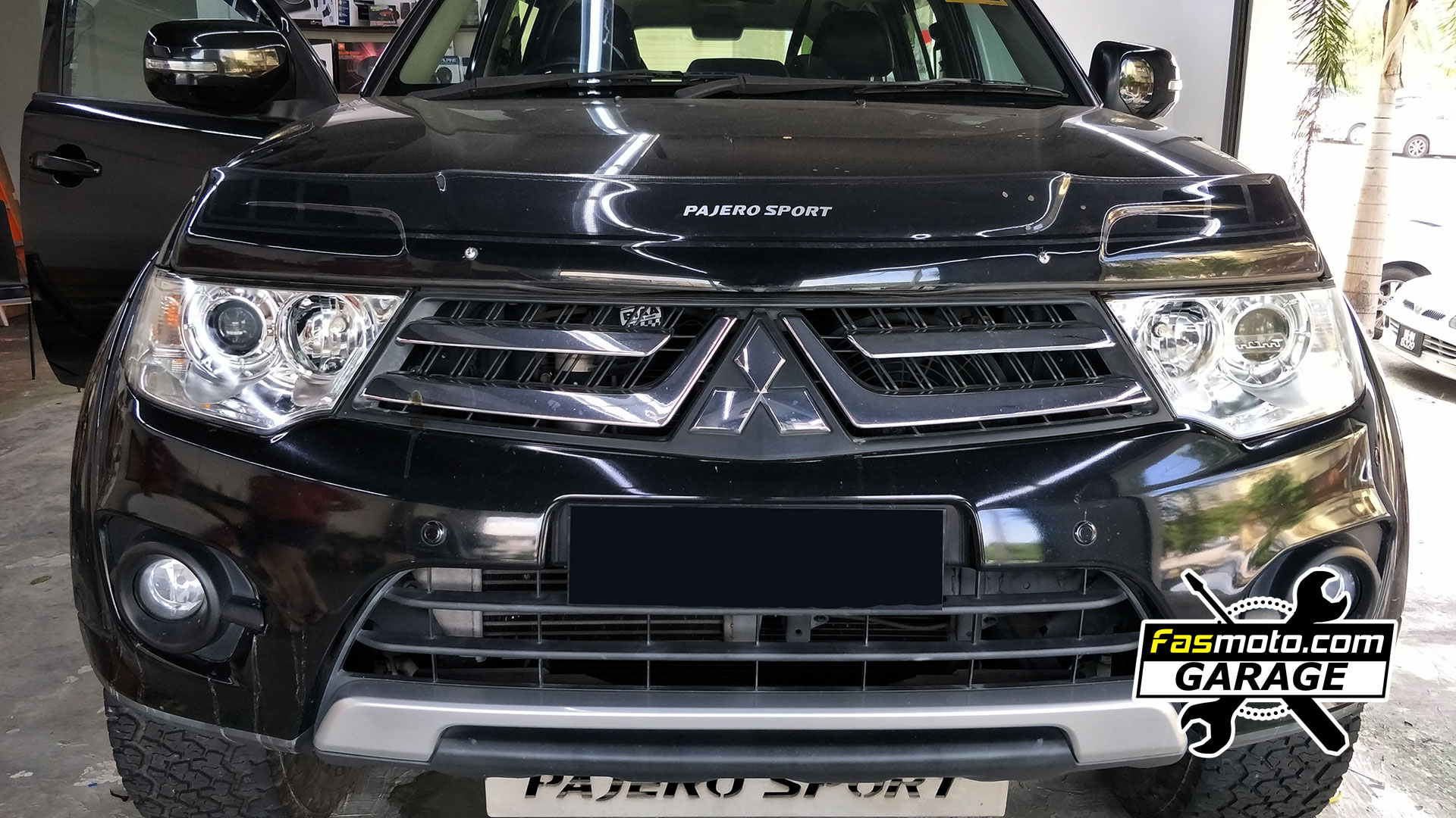 Mitsubishi Pajero Sport Headlamp Restoration (Yellowing, Oxidation, Fogged)