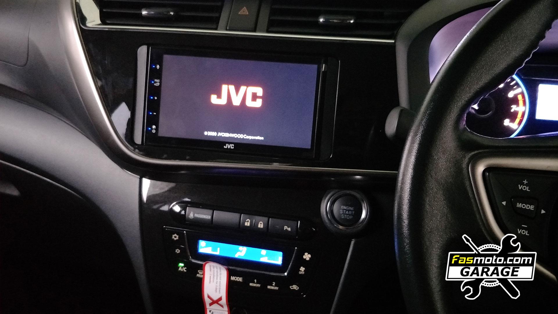 Perodua Myvi 3rd Gen JVC KW M560BT Blaupunkt RC 3 Install