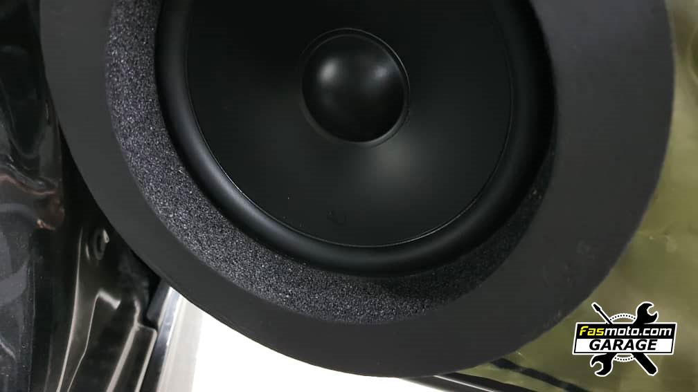 Perodua Myvi Advance 3rd Gen JVC CW DRA8 Active Sub Infinity Alpha 650C Speakers Install