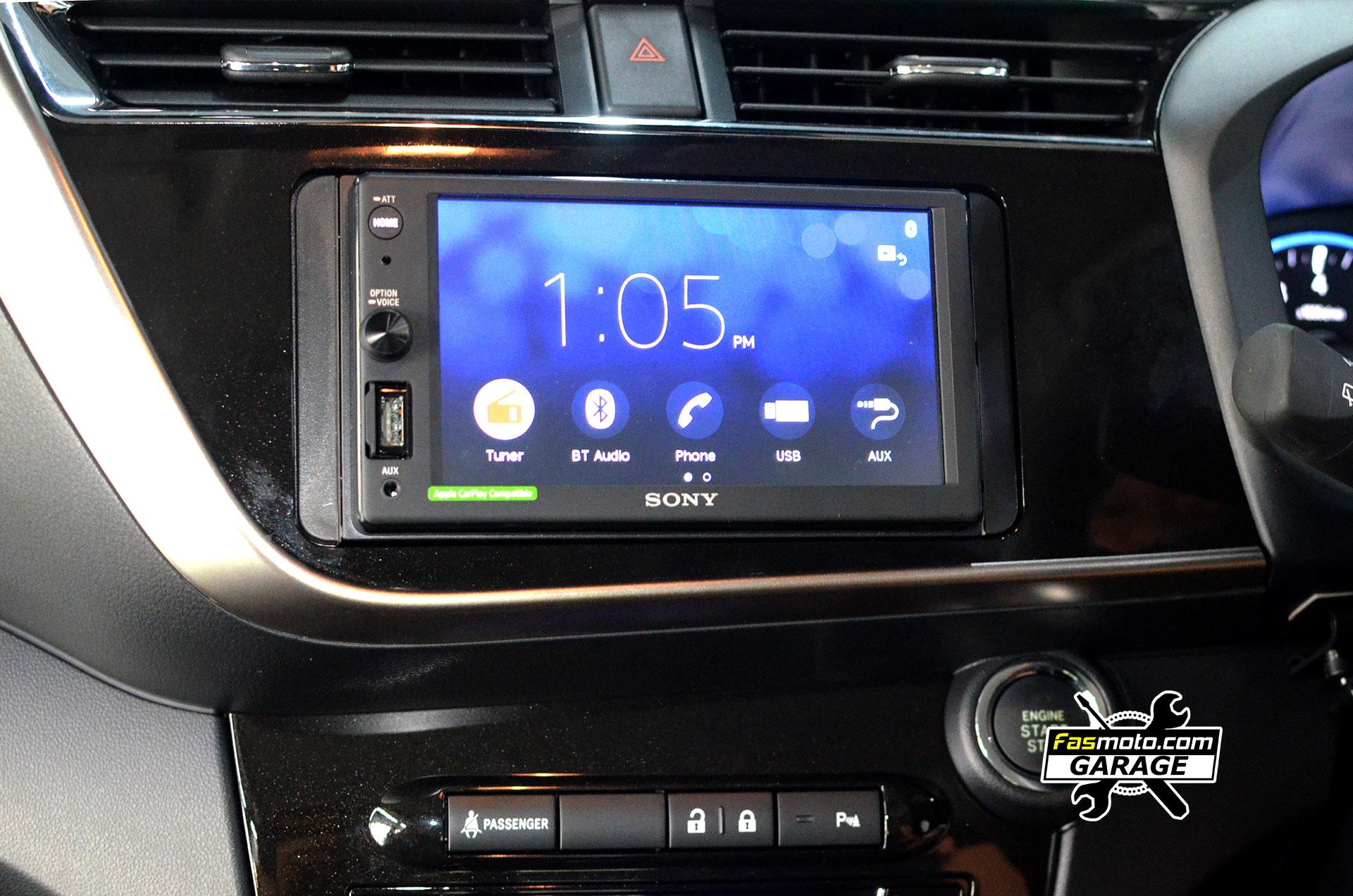 Perodua Myvi AV 3rd Gen Sony XAV-AX1000 install