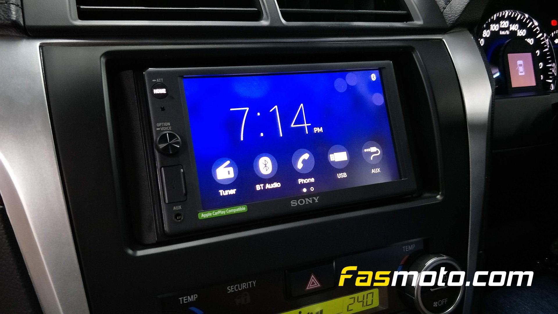 Sony XAV-AX1000 Home UI