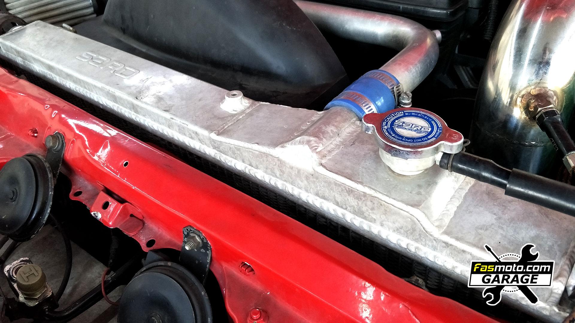 Toyota Supra MK4 A80 Pioneer SPH-C10BT Single DIN install