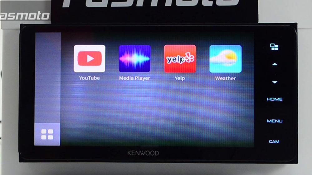 Kenwood DMX718WBT Youtube WebLink