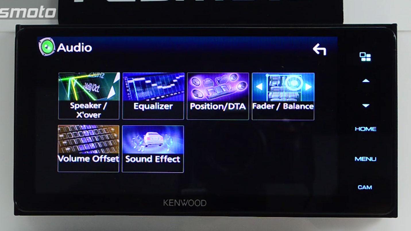 Kenwood DMX718WBT High Quality Sound