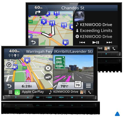 Kenwood DNX9170S Garmin Navigation Engine