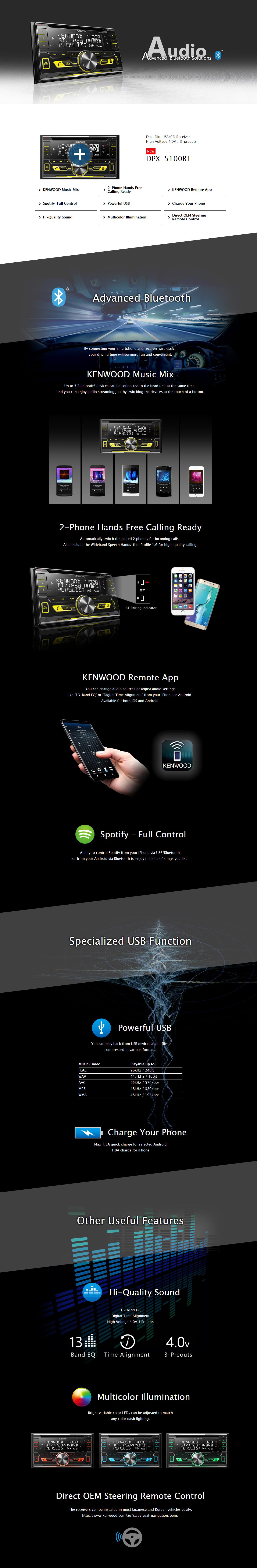 Kenwood DPX-5100BT Malaysia