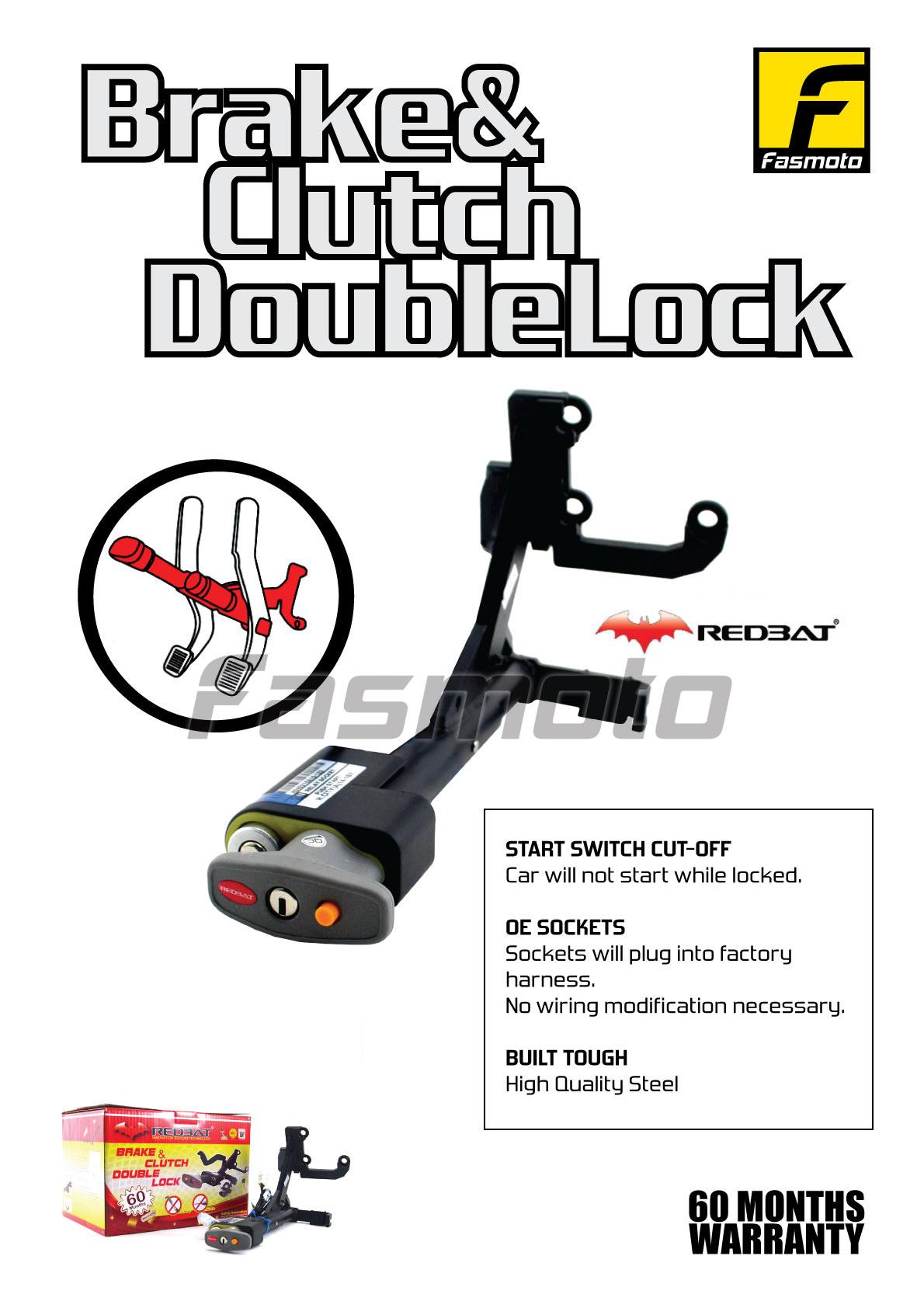 Fasmoto Redbat Double Lock