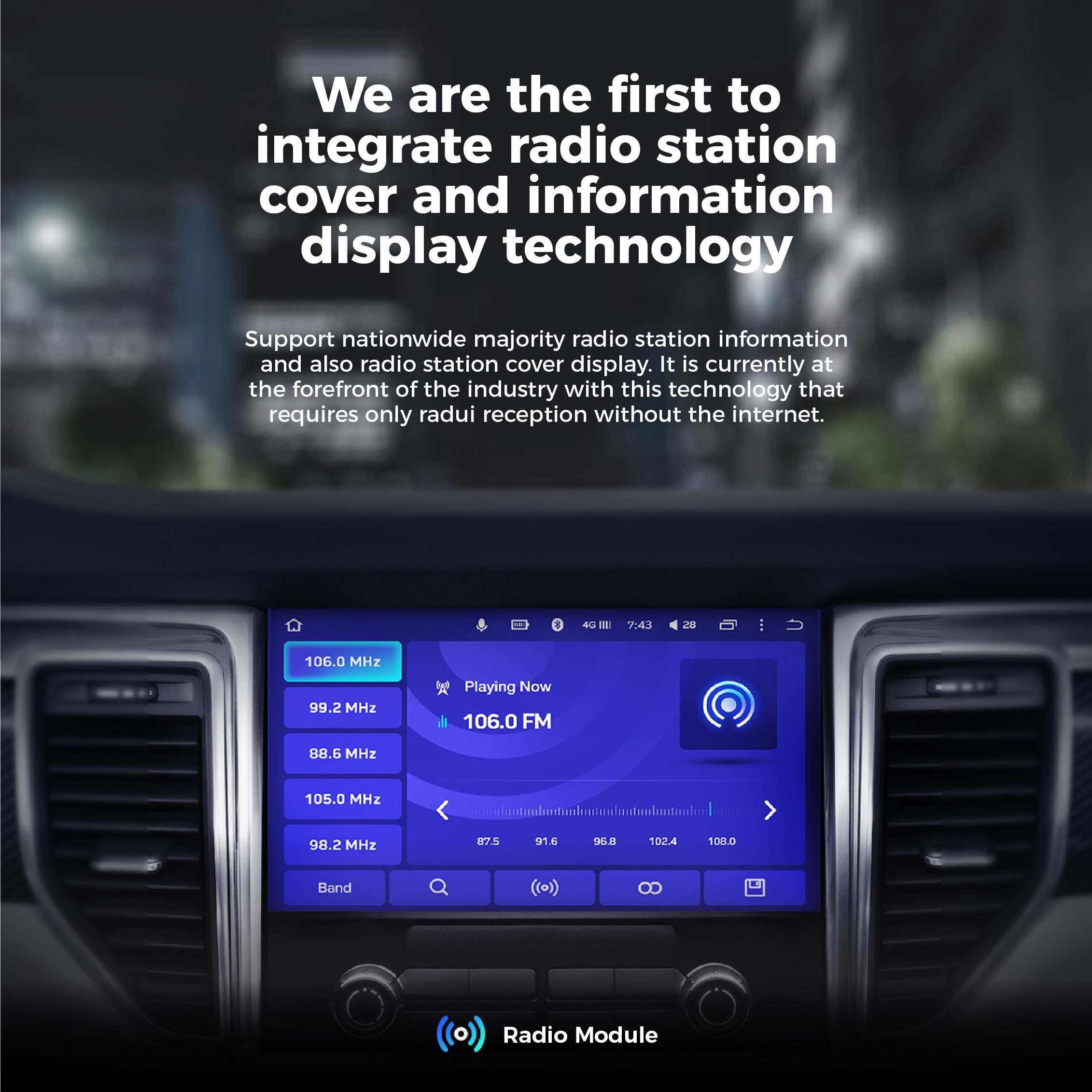 TEYES Android OS Head Unit Features